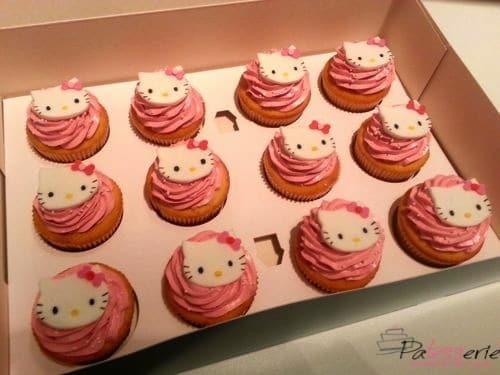 vanille cupcakes frambozen, patesserie.com