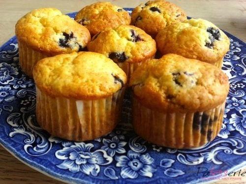 Bosbes muffins en een lege keuken?