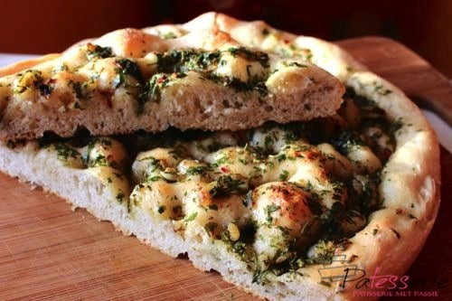 Daring Bakers Uitdaging April 2015: Focaccia