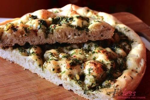 focaccia, daring bakers, patesserie.com
