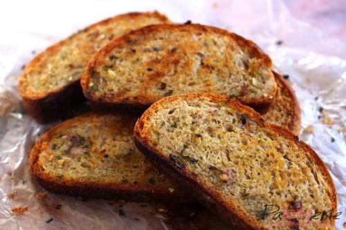 knoflook broodjes, patesserie