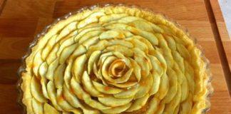 open franse appeltaart, patesserie.com