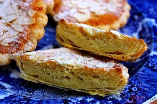 zwitserse gebakjes, bruidsgebakjes, frangipane taartjes, patesserie.com