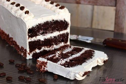 chocolade koffie cake, patesserie.com