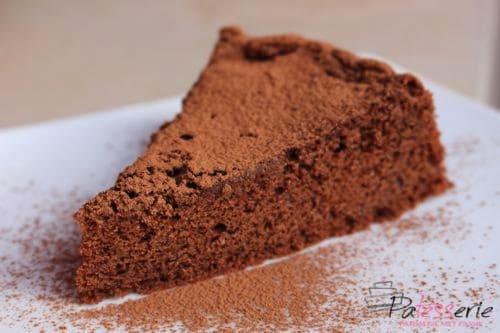 glutenvrije chocolade macca cake, www.patesserie.com
