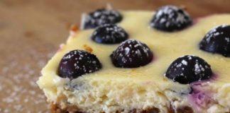 cheesecake met bosbessen, patesserie.com, gebak