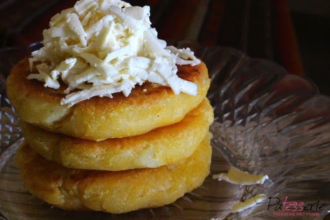 arepas uit colombia, patesserie.com, colombia, yuca