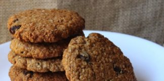 oatmeal cookies, patesserie.com, arbeidsvitaminen