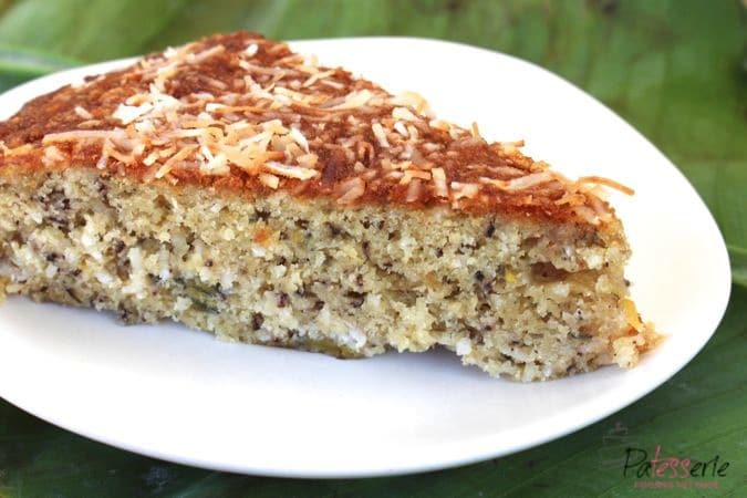 kokos bananencake, patesserie.com, cake