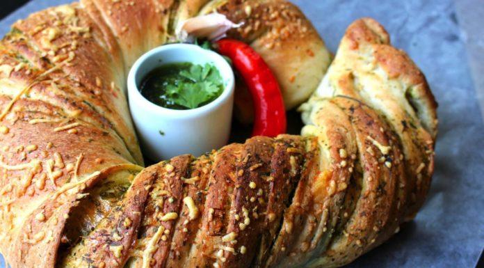 Chimichurri Twist Bread, patesserie.com