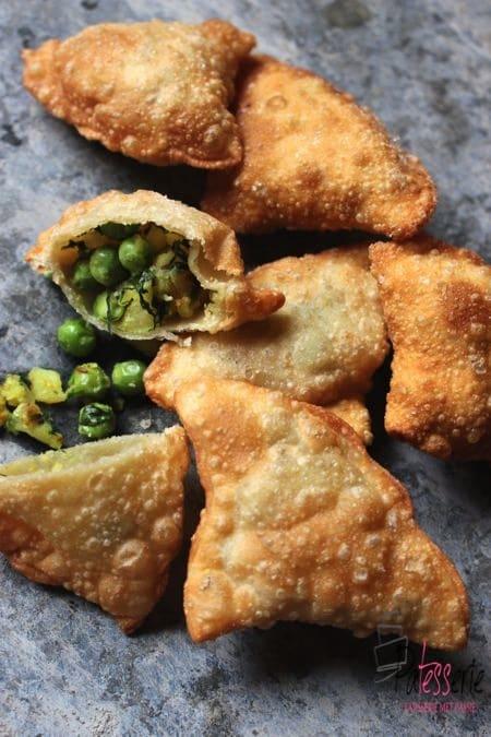 indiase samosa, patesserie, streetfood, india