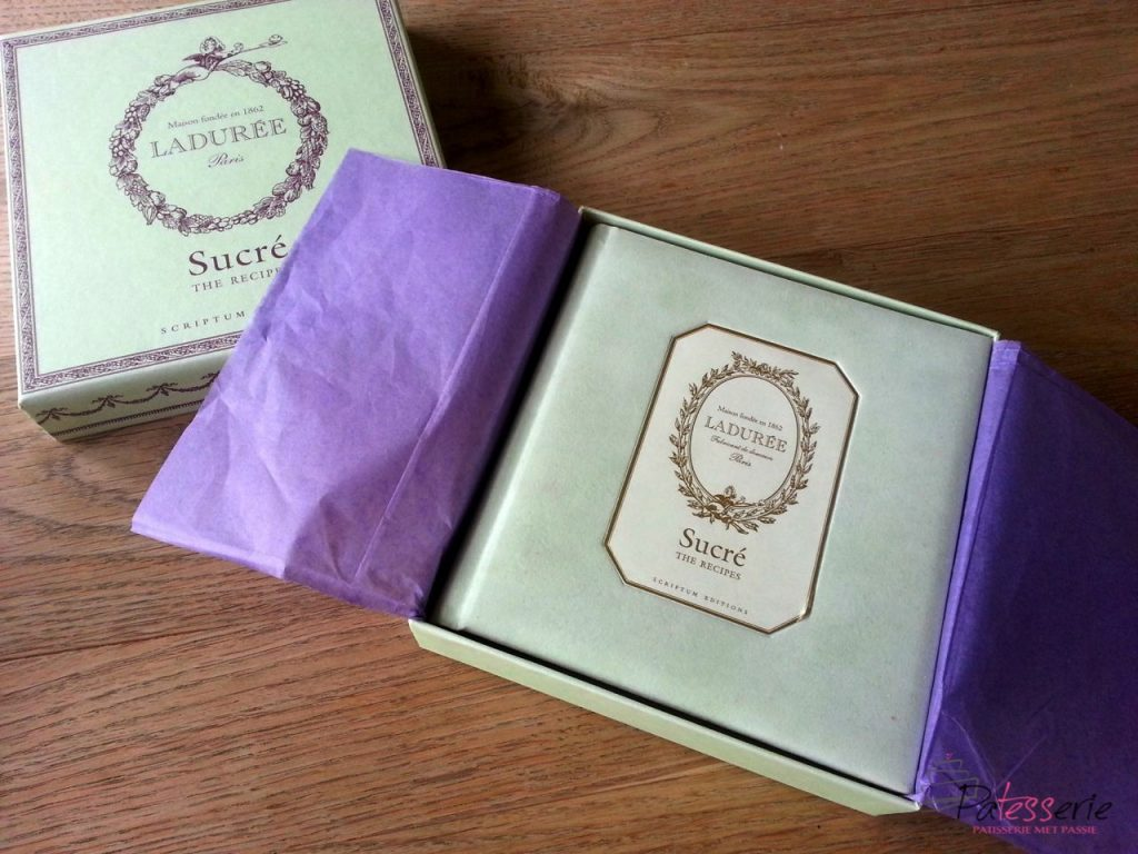 Ladurée Sucré, patesserie, boekentip