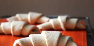 getoerd gerezen deeg, patesserie, croissantdeeg