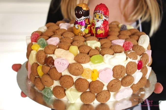 Strooigoed taart, patesserie, sinterklaas