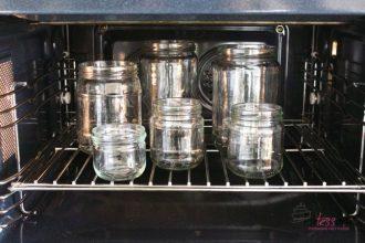 steriliseren van potten en flessen, patesserie.com