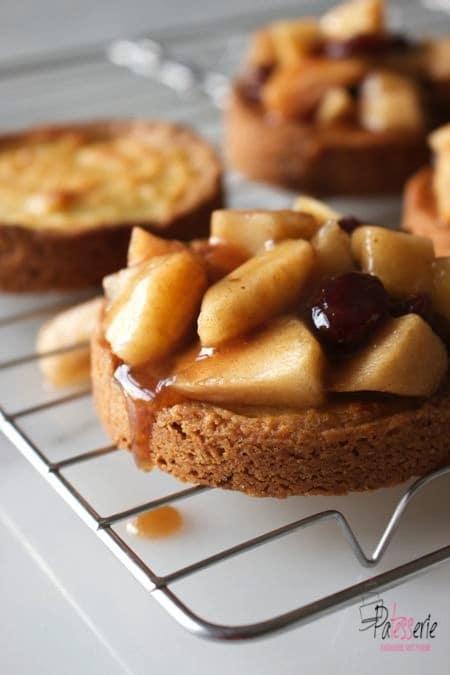 Luxe appelkoeken, patesserie.com, appeltaart, geweckte appeltaartvulling