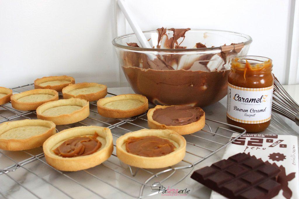 chocolade tartelettes, patesserie.com, awajún bar 52%, peru