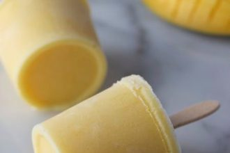 Mango Frozen Yoghurt ijsjes, patesserie.com