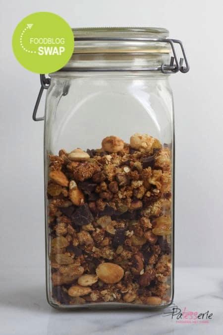zelfgemaakte granola, foodblogswap, patesserie.com