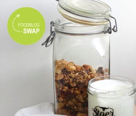 zelfgemaakte granola, patesserie.com, foodblogswap
