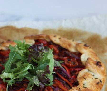 galette met tomaat en geitenkaas, patesserie.com