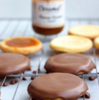 Heerlijke karamelkoekjes met chocolade