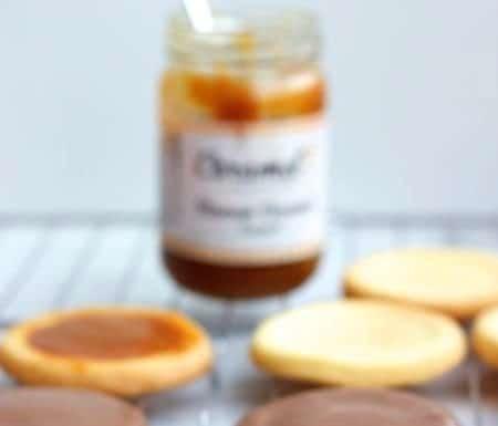 karamelkoekjes met chocolade, patesserie.com
