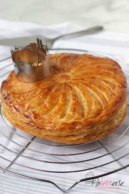 driekoningentaart, galette des rois, patesserie,com