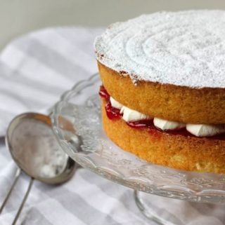 victoria sandwich cake, patesserie.com
