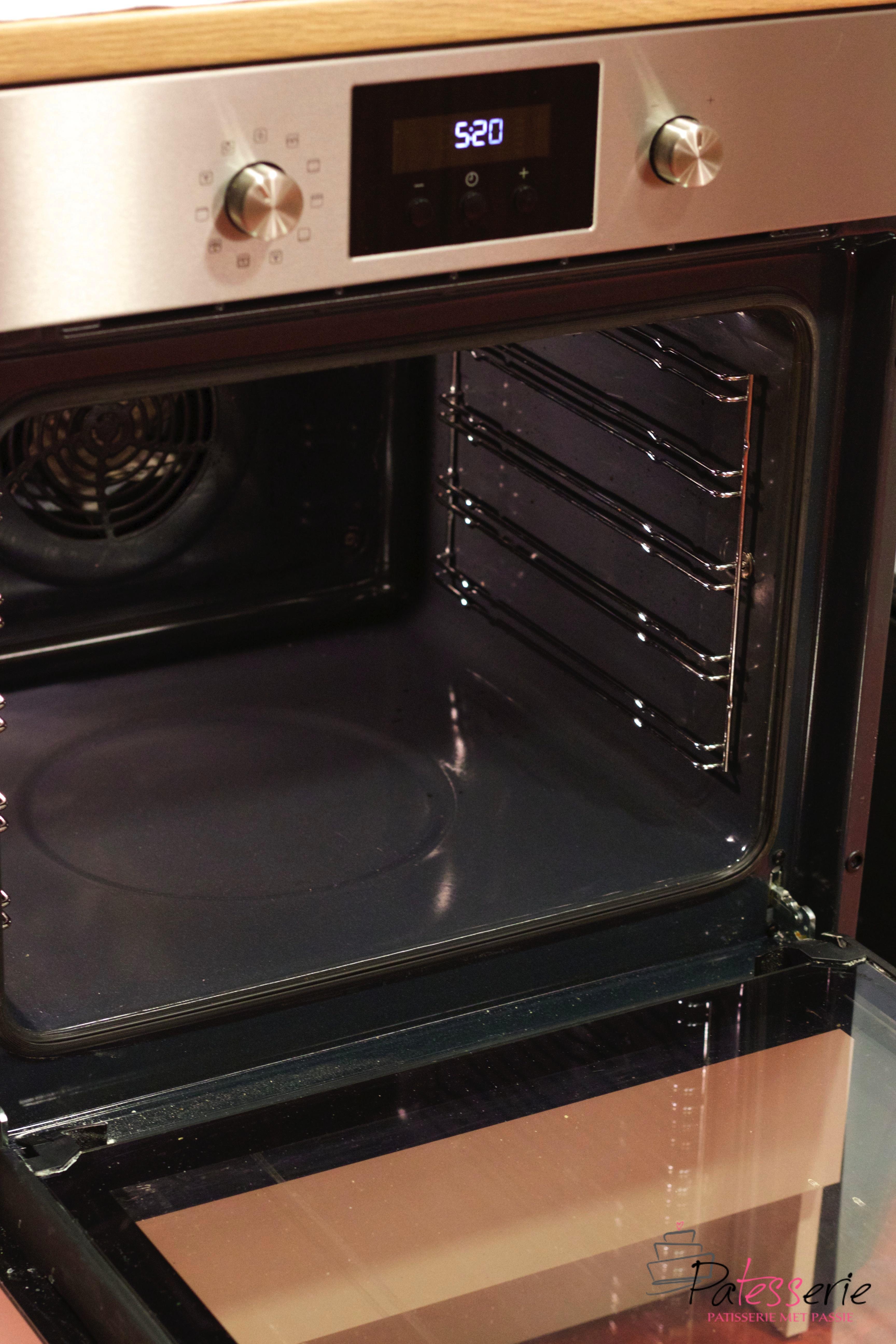 baktips} hoe maak ik de oven schoon? - patesserie