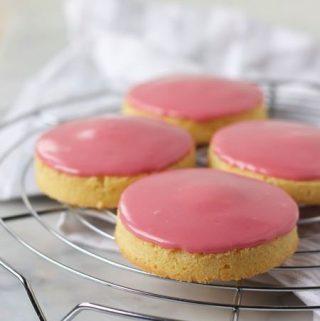 glacekoeken, roze koeken, patesserie.com