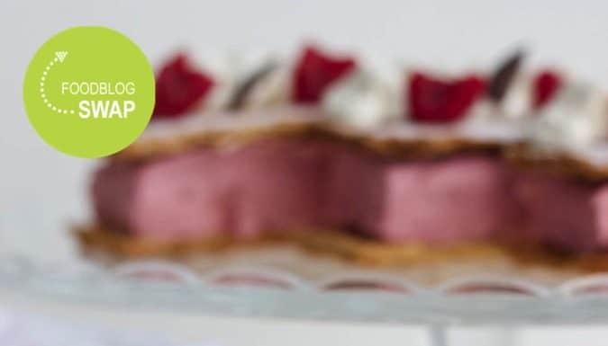 tompouce met aardbeienijs, patesserie.com