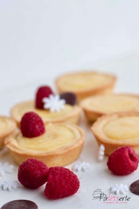 mini tartelettes met lemoncurd, patesserie.com