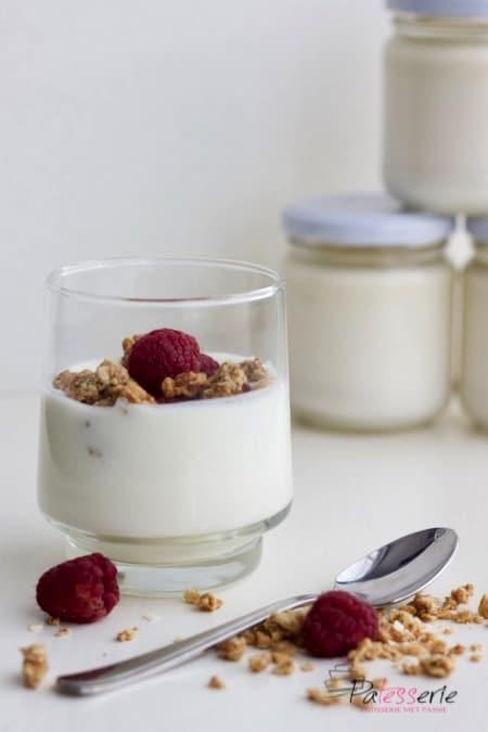 yoghurt maken, roeryoghurt, rauwmelkse yoghurt, patesserie.com