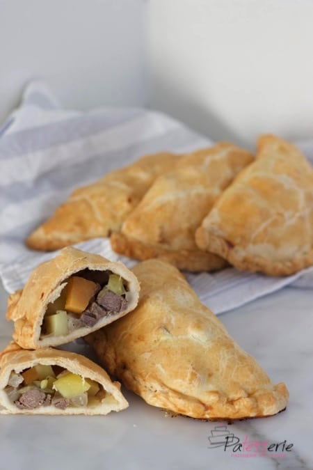 cornish pasty, cornwall, recept, patesserie.com
