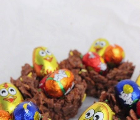 chocolade nestjes maken, patesserie.com, pasen, traktatie