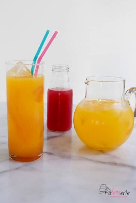 Tequila Sunrise limonade