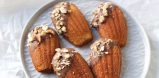 madeleines met beurre noisette, patesserie.com