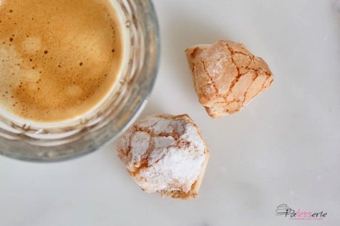 amaretti koekjes, patesserie