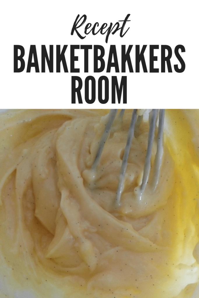 banketbakkersroom met vanille
