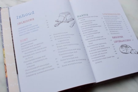 het 3e boek van Levine Broodjes uit eigen oven zoet en hartig inhoudsopgave