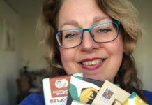 patesserie Tessa met chocoladerepen voor chocolade domino