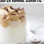dalgona koffie, een creme van oploskoffie
