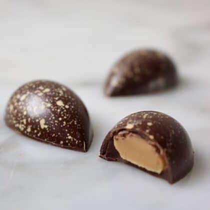 Bonbons met amarula vulling