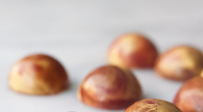 bloedsinaasappel speculaas bonbons
