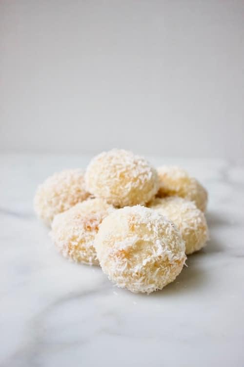 Marokkaanse kokoskoekjes