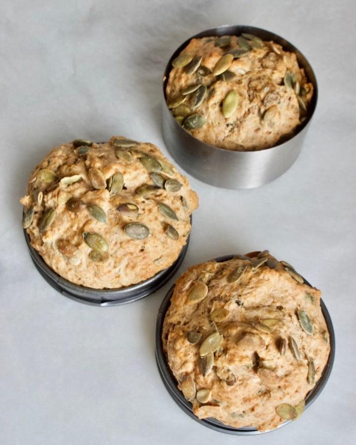 3 tarwe sodabroodjes in bakring