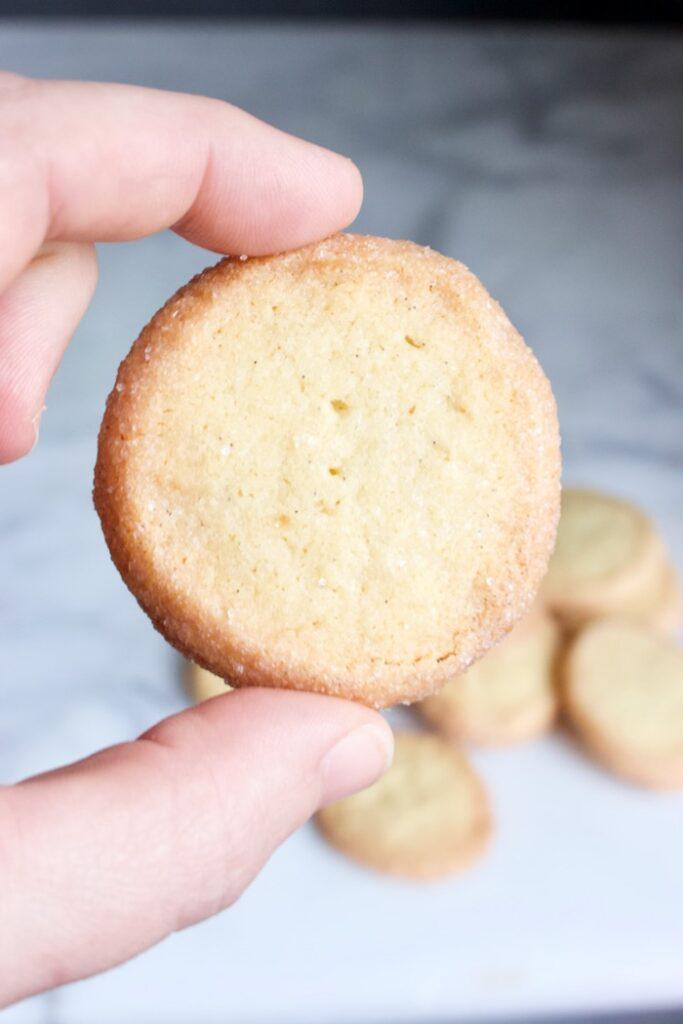 gebakken koekje van goudse moppen recept
