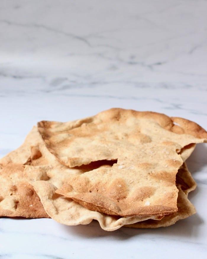 matzes crackers in stukken