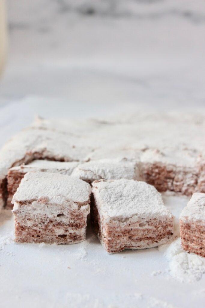 chocolade marshmallow